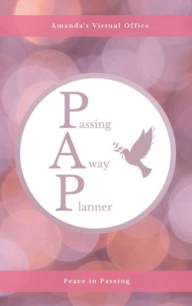 Passing Away Planner Cover